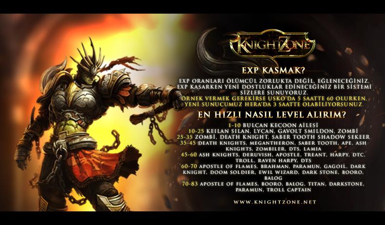 KnightZone Yenilenen Yüzüyle Çok Yakında Sizlerle !