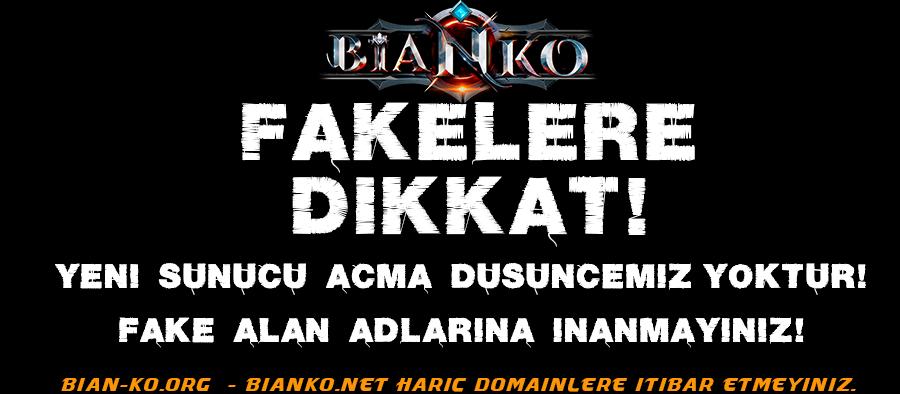Fake Serverlara Dikkat!