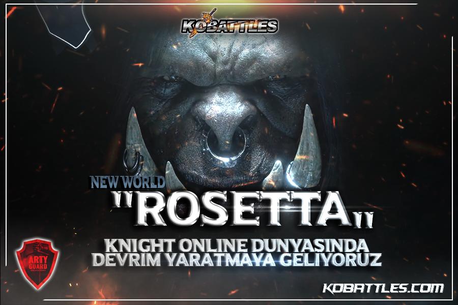 """""""Rosetta"""" Tanıtım Konusu"""
