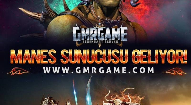 """GmrGame Yeni Sunucu """" MANES """" 7 Ağustos - 21:00'da Açılıyor !"""