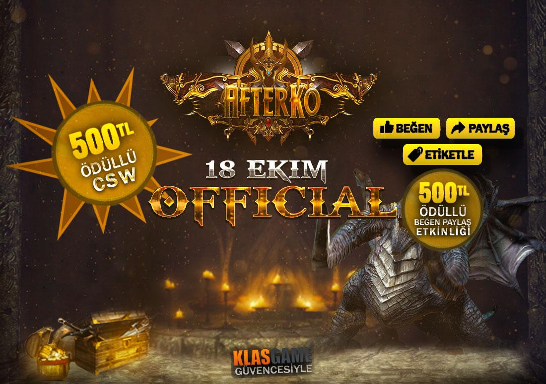 500 TL Ödüllü Beğen Paylaş / Official 18 Ekim'de Sizlerleyiz!